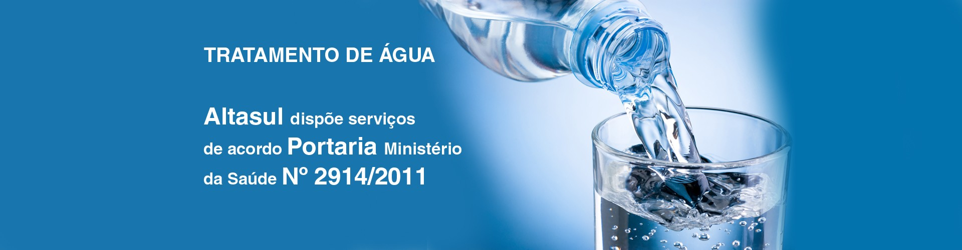 Alatasul Serviços tratamento de água